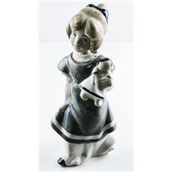 "VALENCIA Spain Bisque Figurine 7"""