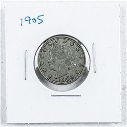 USA 1905 V Five Cents