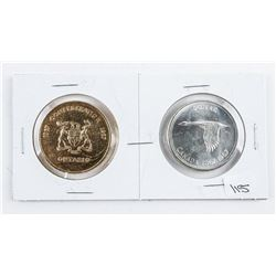 Centennial 1867-1967 Silver Dollar and Medal