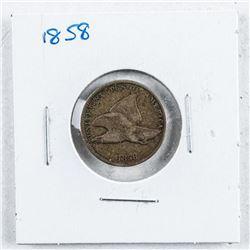 USA 1858 One Cent