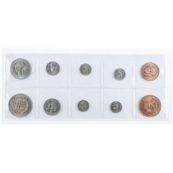 Estate Group (10) Coins of New Zealand