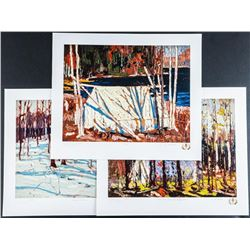 Tom Thomson (1877-1917) Encampment Suite -  Rare # 1 Edition. All Images are Exact Size  of the Orig