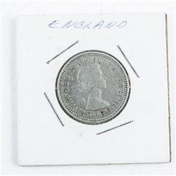 England 1 Shilling Coin