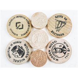 Estate Group - Wooden Nickels etc