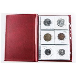 Coin Stock book (18) Coins - Starter  Collection