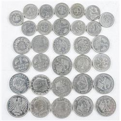Lot 'German' Coins (40 Marks) 20.5 Euro