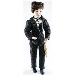 DYNASTY Fine Porcelain Collector Doll -  Bride-Groom MSR 125