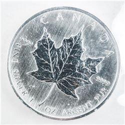 RCM 2006 Maple Leaf .9999 Fine Silver 5.00  Coin Original Mint Wrap