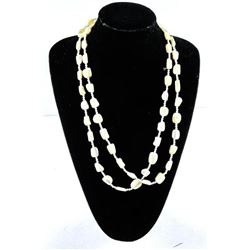 """Estate Necklace 60"""" with Pearls"""