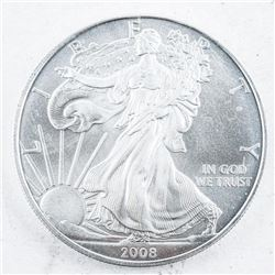 2008 USA Silver Eagle Dollar Coin