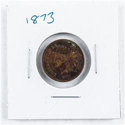 USA Indian Head 1 Cent 1873 VF30