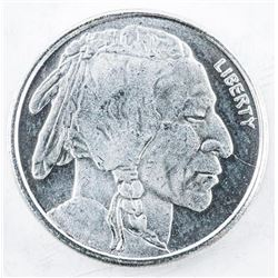 USA Indian/Buffalo .9999 Fine Silver Round