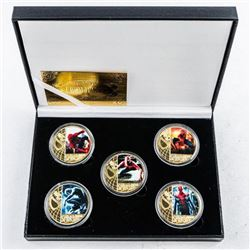 Spiderman 5 Gold Plated Collector Medallion  Collection