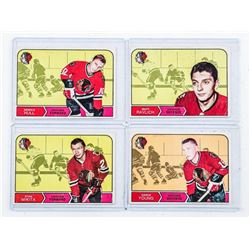 Group (4) (Chicago) T.C.G. Hockey Cards -  Includes: Stan Mikita, Dennis Hull