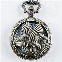 Pocket Watch with Fob with Eagle Case