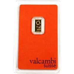 Suisse 1g .999 Fine Gold Bar - Collector Bullion.