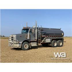 2003 PETERBILT 378 T/A WATER TRUCK
