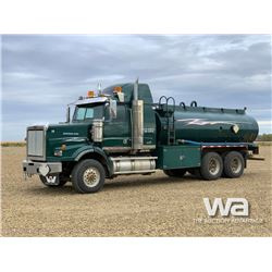 2009 WESTERN STAR 17,575 L T/A WATER TRUCK