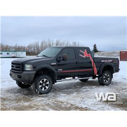 2007 FORD F350 OUTLAW LARIAT CREW CAB PICKUP