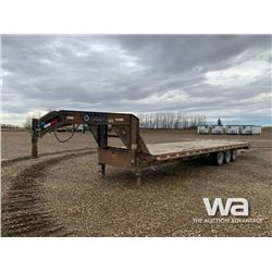 2013 LOAD TRAIL TRIDEM 5TH WHEEL TRAILER