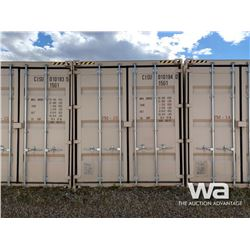 2012 8 X 9 FT. SHIPPING CONTAINER