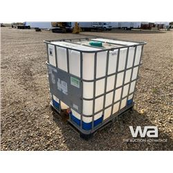 (2) 250 GAL. POLY TOTES