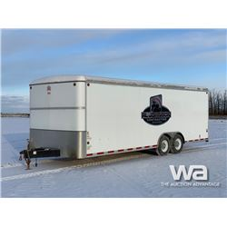 2013 CJAY CJ824-78-T70 T/A ENCLOSED TRAILER