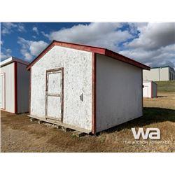 14 X 14 FT. PORTABLE WOOD BUILDING