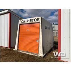 8 X 12 FT. PORTA-STOR BUILDING
