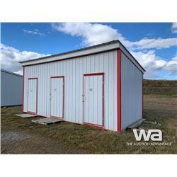 10 X 24 FT. PORTABLE BUILDING