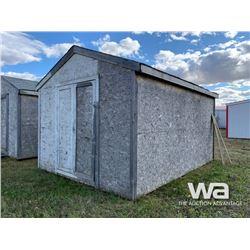 12 X 16 FT. PORTABLE WOOD BUILDING