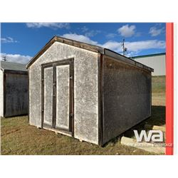 12 X 16 FT. PORTABLE WOOD BUILDING