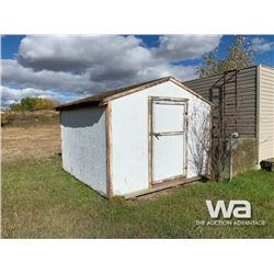 10 X 10 FT. PORTABLE WOOD BUILDING