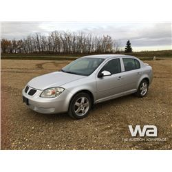 2009 PONTIAC G5 4-DOOR CAR