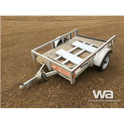 "2015 WESTBROOK 54""X76"" S/A UTILITY TRAILER"