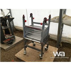 (2) EXTENDABLE & FLEXIBLE CONVEYOR ROLLERS