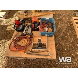 WRENCHES, AIR HOSE, SAWS