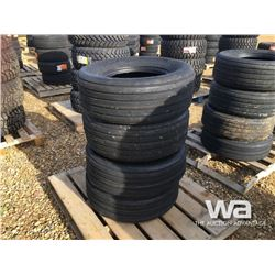 (UNUSED) (4) GRIZZLY 11L-15 AG TIRES