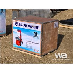 (UNUSED) BLUE VIPER HEAVY DUTY TIRE CHANGER