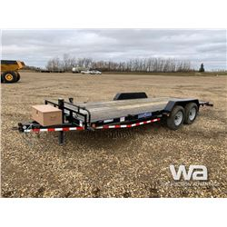 2015 LOAD TRAIL T/A CAR HAULER TRAILER