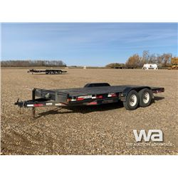 2015 RAINBOW T/A CAR HAULER TRAILER