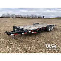 2013 RAINBOW T/A CAR HAULER TRAILER