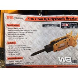 (UNUSED) TMG Q/C 7 TON HYDRAULIC BREAKER