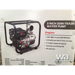"(UNUSED) TMG 3"" SEMI TRASH WATER PUMP"