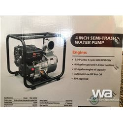 "(UNUSED) TMG 4"" SEMI TRASH WATER PUMP"