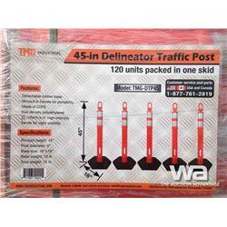 """(UNUSED) TMG DELINEATOR 45"""" TRAFFIC POSTS"""