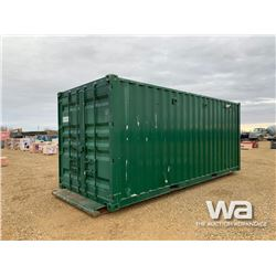 INSULATED 8 X 20 FT. SHIPPING CONTAINER