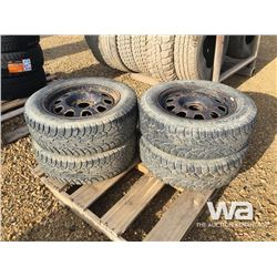 (4) HANKOOK P215/65R17 TIRES & RIMS