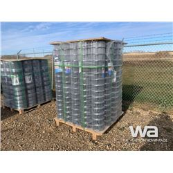 (25) ROLLS OF 5 X 100 FT. WIRE MESH