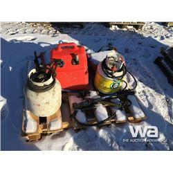 PROPANE TORCHES, FUEL TOTE, BACKPACK SPRAYERS